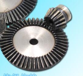 Precision bevel gear 5:1 ratio /1.5M 15and 75tooth bevel gear transmission / 90 degrees at 1.5model