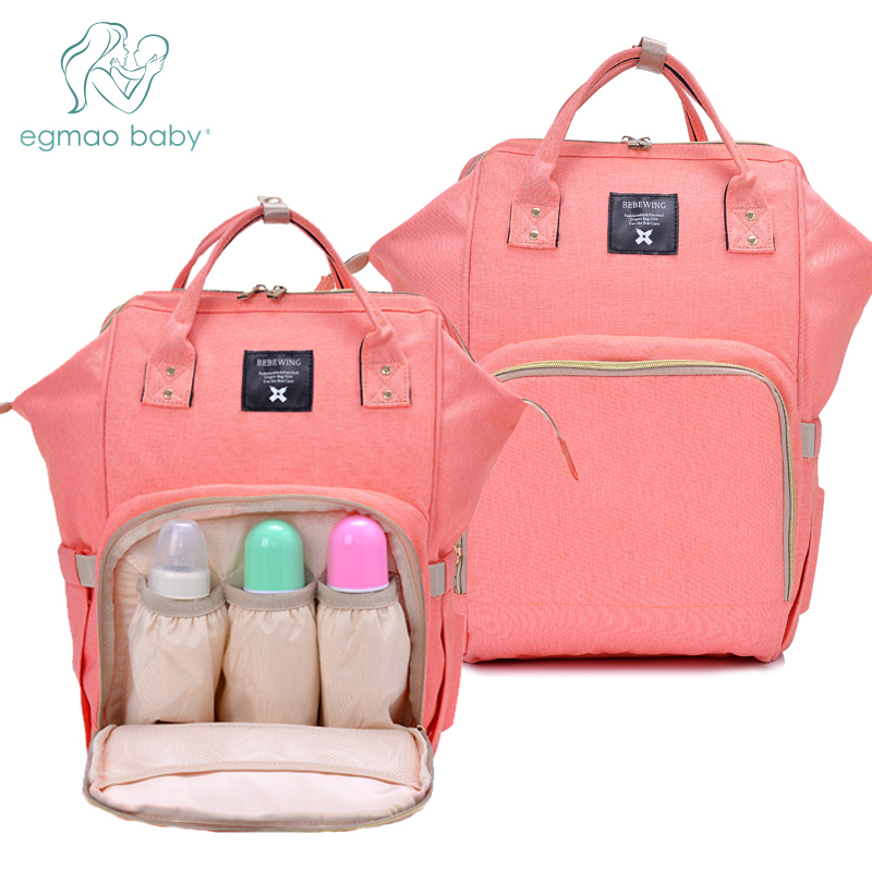 4ddc71096319 US $17.94 50% OFF|Diaper Bag Multi Function Waterproof Travel Backpack  Nappy Bags for Baby Care, Large Capacity, Stylish And Durable Mummy Bag-in  ...