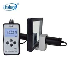 Linshang LS116 trasmissione ottica VLT Tester misuratore di trasmissione della luce con luce visibile bianca 380 760nm conforme allo Standard CIE