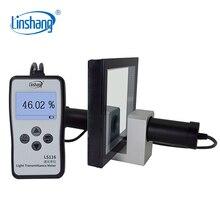 Linshang Medidor de transmisión óptica VLT LS116, medidor de transmitancia de luz con 380 760nm, luz blanca Visible, cumple con el estándar CIE