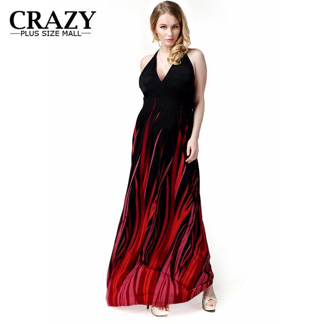 Women Plus Size Summer Bohemian Dresses