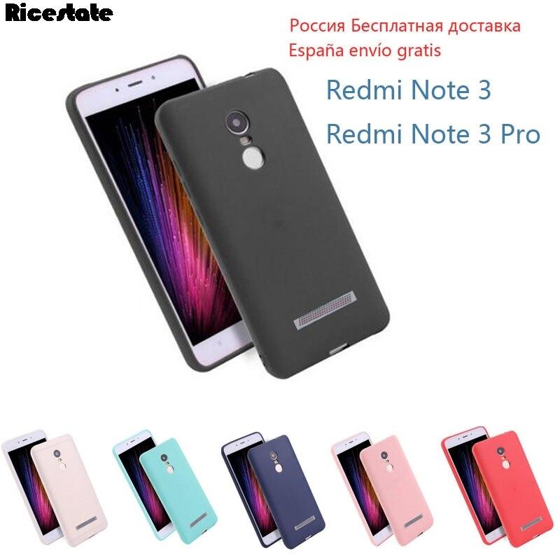 For Xiaomi redmi note 3 Case Cover xiaomi redmi note 3 pro case Ricestate Super Frosted Shield back cover Redmi Note3 soft case(China)