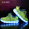 Kids Shoes Rodinha Basket LED Kids Light Up Shoes for Children Glowing Sneakers With Wheels Led zapatillas led Girls Shoes GH375