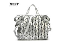 2016 new free shipping 11 women's fashion color sequins geometry package sas plain folding bag briefcase bag with logo H023