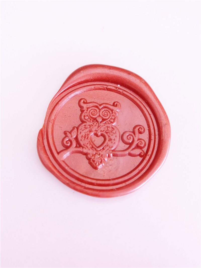 XunMade New arrive Creative cute owl wax seal stamp,flower skull wax stamp /diy wedding invitation seals gift free shipping creative wax envelope set literary romantic gift confession artifact the new year wedding gift