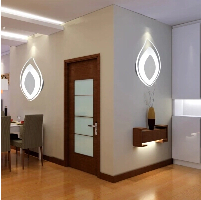 ФОТО Hot Sale Art Leaf LED Wall Lamp Modern Fashion Fixtures For Home Indoor Lighting Bedside wall Lamps Applique Murale Luminaire