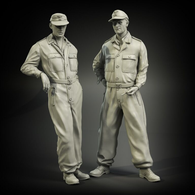 1/35 Resin Figure Model Kit Unassambled Unpainted 00850