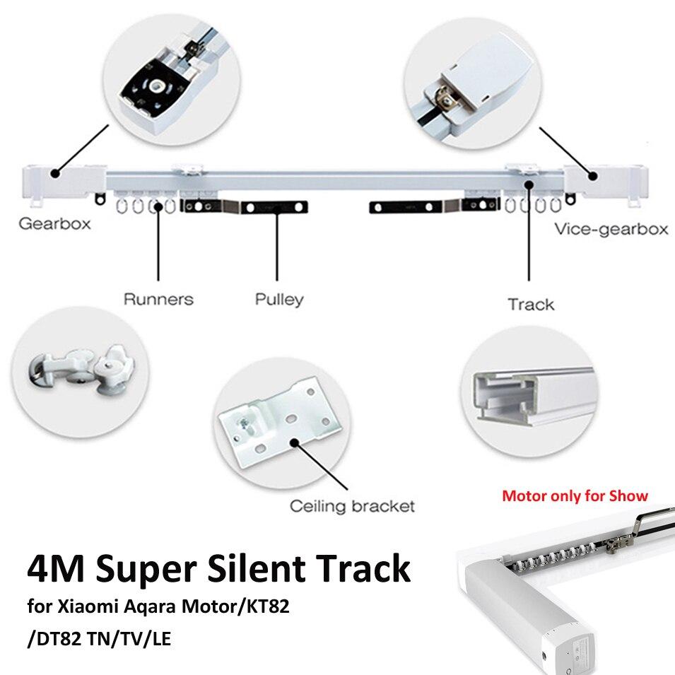 4M or less Xiaomi Aqara Curtain Rails Zigbee Wifi work with MI HOME smart remote control
