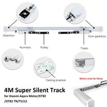 4M or less Xiaomi Aqara Curtain Rails,Zigbee Wifi work with MI HOME,smart remote control silent track,also for Dooya KT82 TN цена