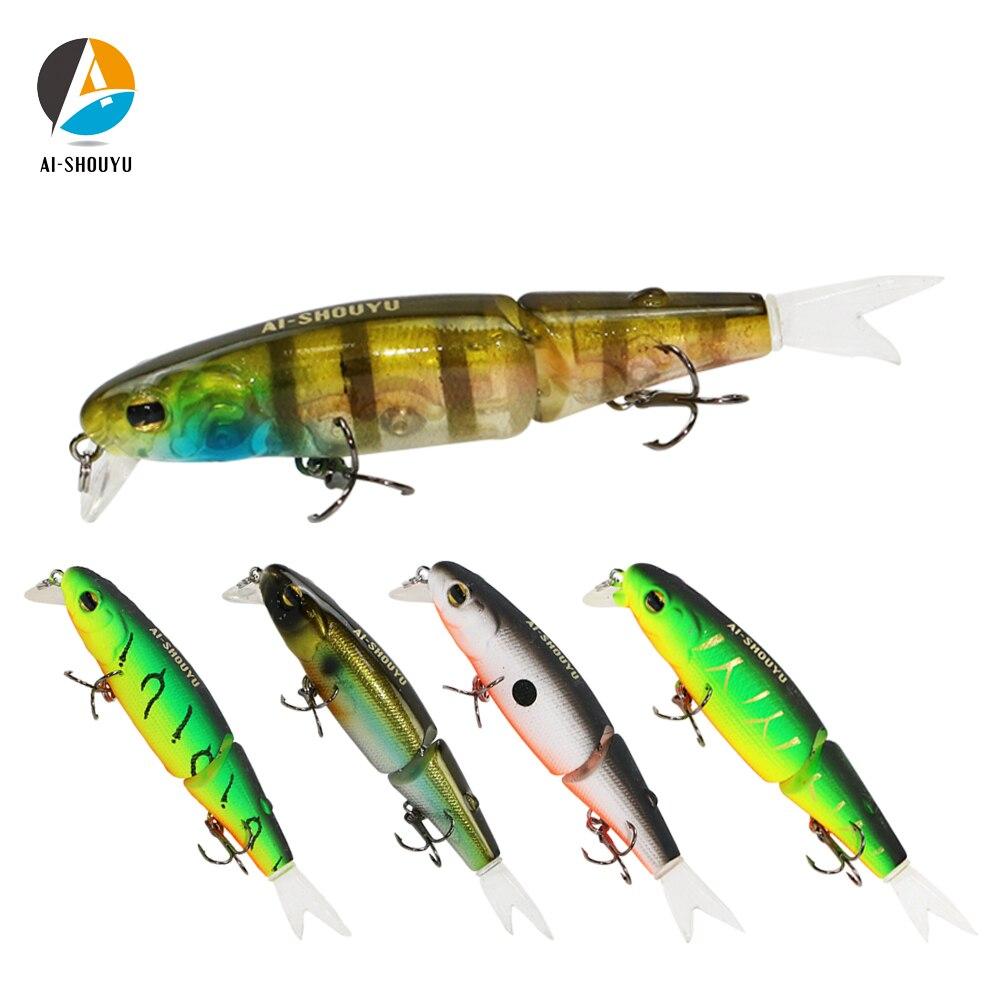 3pcs Wobbler Jigging 6.5cm 2.4g Luminous Fishing Lure Soft Worm Bait