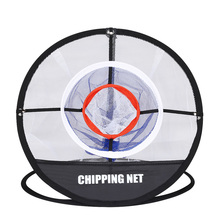 BOBLOV Golf Practice Net Chipping Swing Trainer Pop UP Indoor Outdoor Pitching Cages Mats Portable