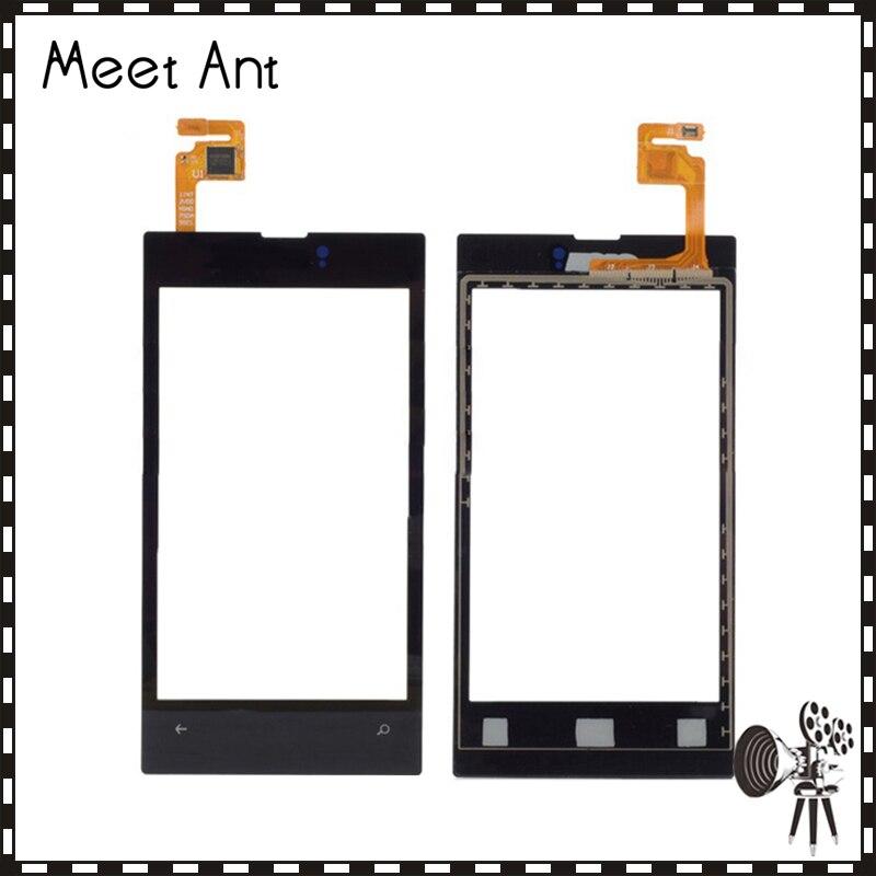 Haute Qualité 4.0 Pour Nokia Lumia 525 N525 Écran Tactile Digitizer Capteur Externe Lentille En Verre Panneau Noir