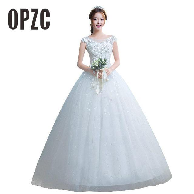 Costomize Real Photo New Arrival Cheap White Simple Fashion Wedding