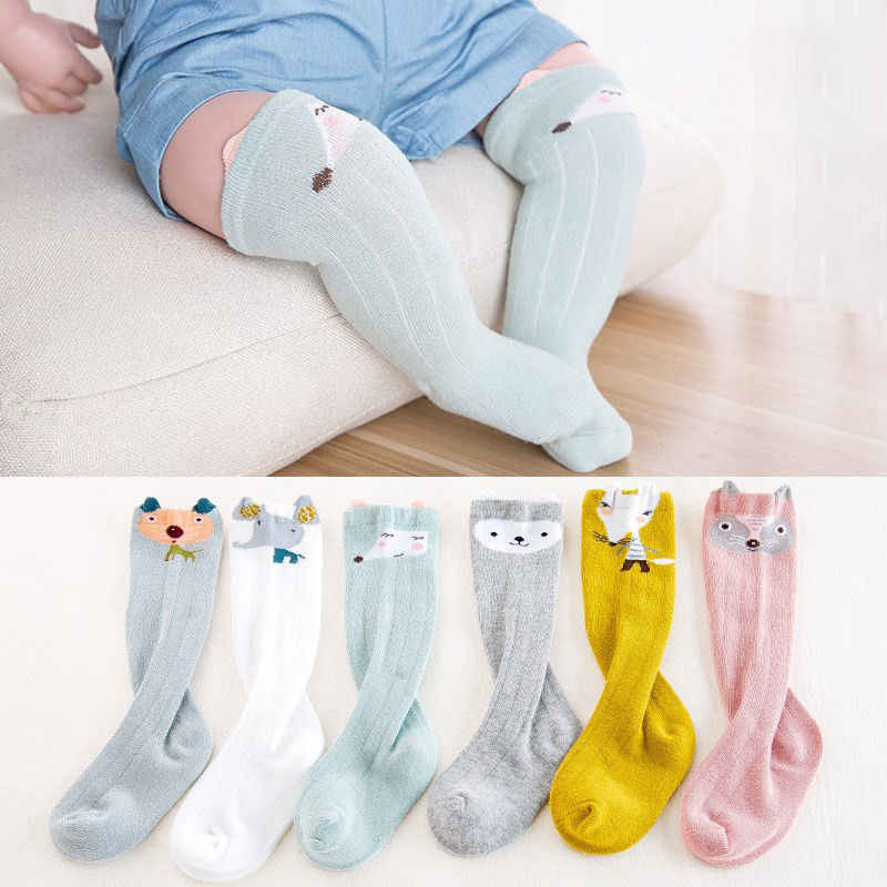 Kids Baby Girl Big Bow Knee High Long Soft Warm Tights Socks Stockings Pantyhose