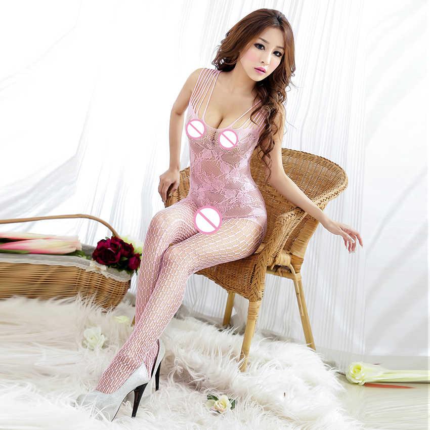 Горячее сексуальное нижнее белье мягкое видимое искушение прозрачные открытые сетчатые ткани нижнее белье костюм женские сексуальные товары