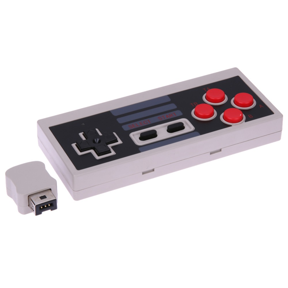 Wireless USB Plug and Play Gaming Controller Gamepad For Mini NES Classic Edition Console Controller for Nintendo for NES