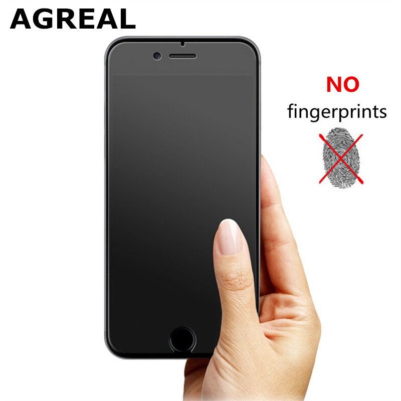 No Fingerprint Premium Tempered Glass Screen Protector For iphone 6 Frosted Glass Protective Film For iPhone 6s matte glass