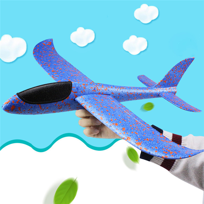 New Hand Launch Throwing Glider Aircraft Inertial Foam Airplane Toy Plane Model Kids Toys