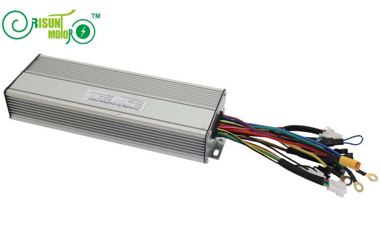 ФОТО Ebike 72V 1500W Brushless Controller 45A 18MOSFET With Regenerative  Function For Electric Bicycle Bike