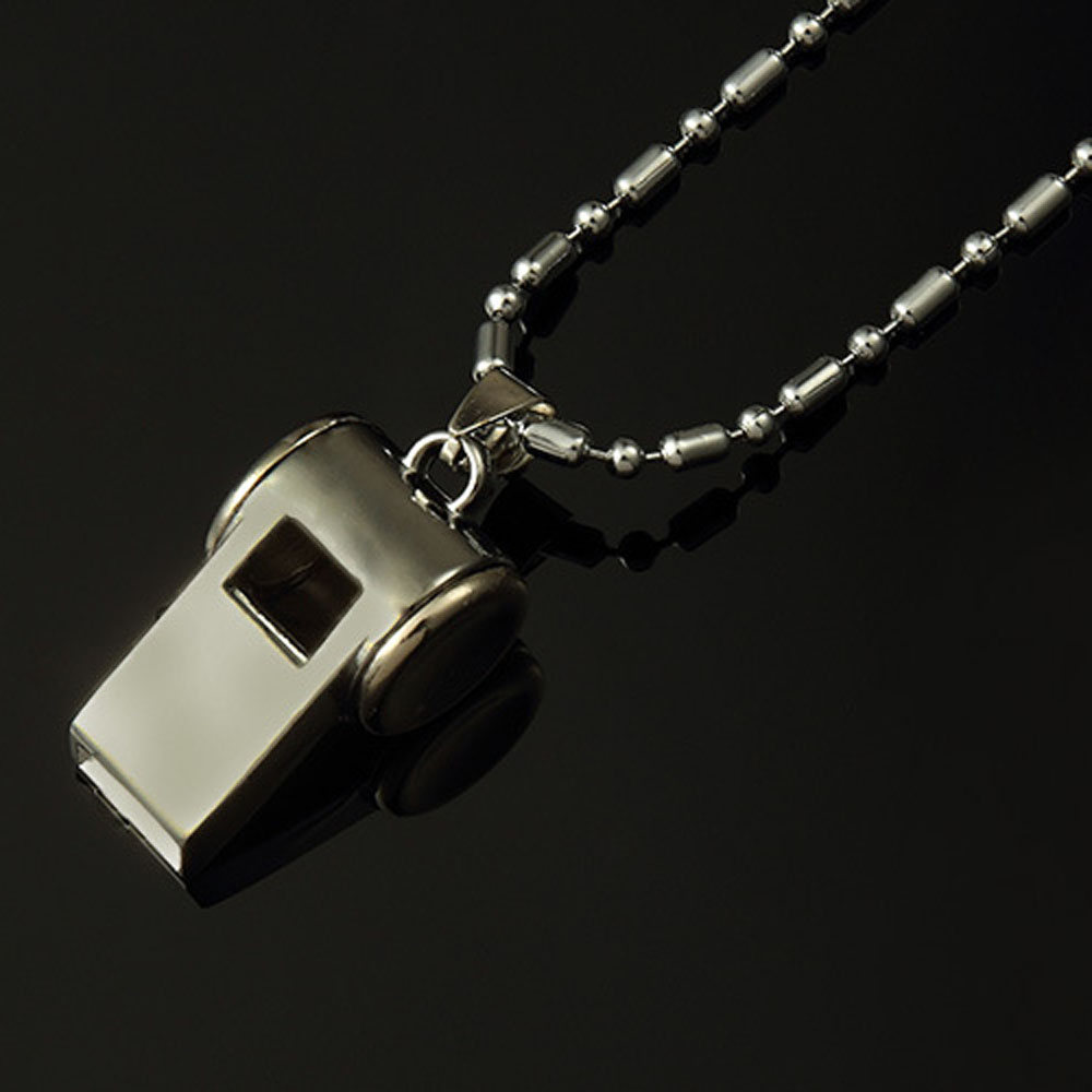cc chanel necklace whistle pendant crystal