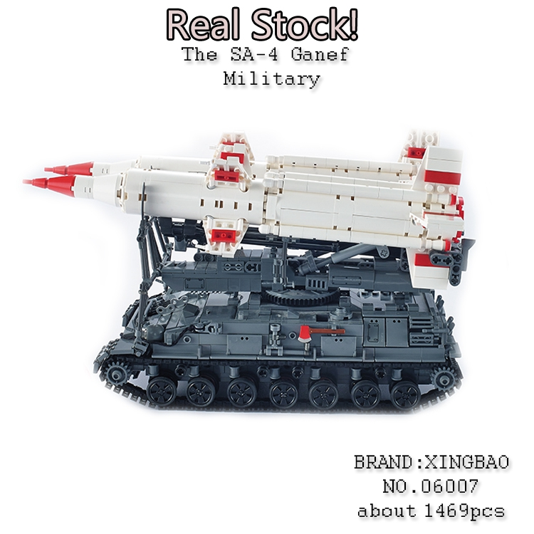 Xingbao 06007 1469Pcs Military weapon Series The SA-4 Ganef Model Building Blocks Bricks Toys for ChildrenGiftsGifts emmett cox retail analytics the secret weapon