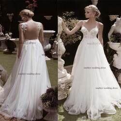 Wuzhiyi свадебное платье без рукавов халат de soiree boda сексуальное v-образный вырез длинное vestido de noiva съемное плечо китайское фабричное платье