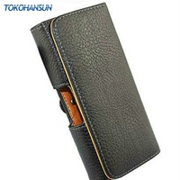 New For Nokia E72 Waist To Hang Lichee Smooth PU Leather Pouch Holster Belt Clip Cover