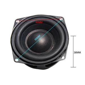 Image 3 - 2 pièces 2 POUCES 52 MM Haut parleurs de Gamme Complète de 4 Ohm 10 W Passionné bricolage Plat Arc En Caoutchouc Bord Haut Parleur bricolage HIFI Haut parleurs Bluetooth