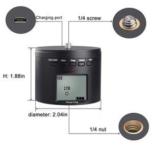 Image 3 - אלקטרוני פנורמה כדור חצובה ראש לgopro/טלפונים חכמים/מצלמות דיגיטליות/DSLRs חשמלי מתאם עבור DJI אוסמו פעולה מצלמה