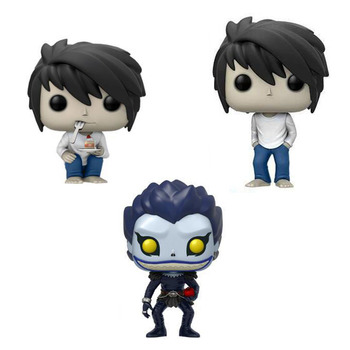 Japan Manga Figma Death Note Nendoroid 10cm PVC Model Death Note Ryuuku Ryuk L Anime Figure Toys
