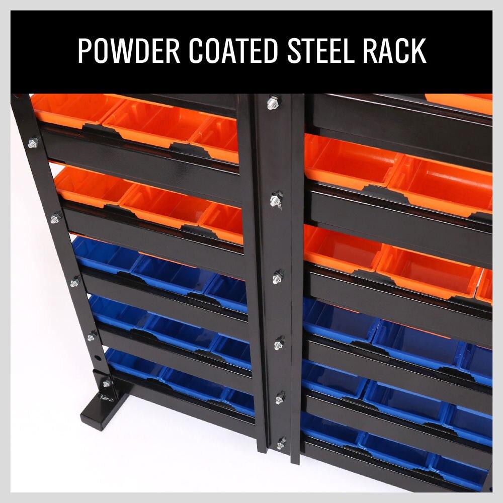 Aliexpress.com : Buy 36 Pcs Bin Storage Rack Shelving Garage Storage Rack  Tool Organiser Box Workshop From Reliable Tools Workshop Suppliers On  HORUSDY ...