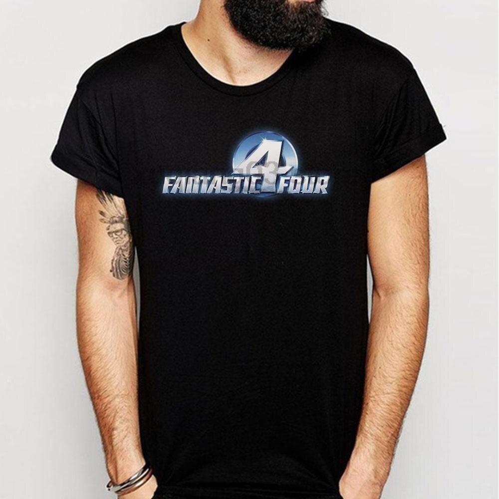 Fantastic Four Reboot Logo Men S T Shirt 5c4ece7f528c9
