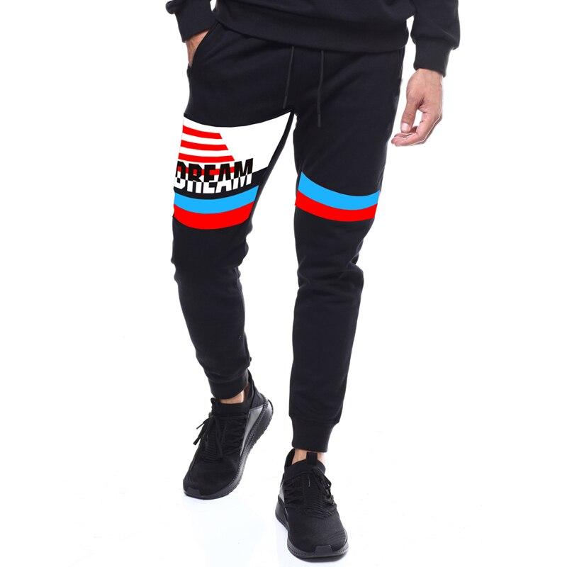 84908e92ada3 Cheap MarKyi 2019 otoño vintage ropa deportiva Joggers ajustados largo  pantalones de los hombres pantalones de