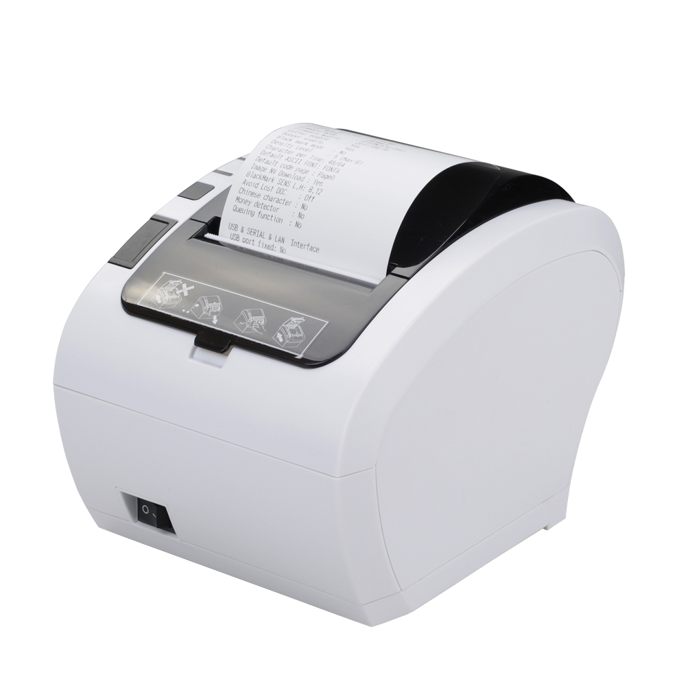 Pos Receipt Printer 80mm Thermal Printer Line Printing Auto Cutter USB POS printer wholesale brand new 80mm receipt pos printer high quality thermal bill printer automatic cutter usb network port print fast
