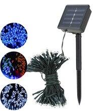 Solar Lamp LEDChristmasLights 6V 8M12M17M22M30M Fairy String Lights Led Outdoor Lighting 8ModesWaterproof ForGardenLightStrip