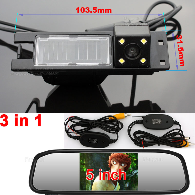 Fongent Back off up Rear View Reverse Wireless font b Camera b font For Opel Astra