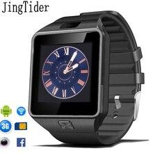 JingTider QW09 3G Android Smart Watch MTK6572 Quad Core 512MB/4GB Bluetooth 4.0 SIM Card Call Anti-lost Smartwatch PK DZ09 GT08
