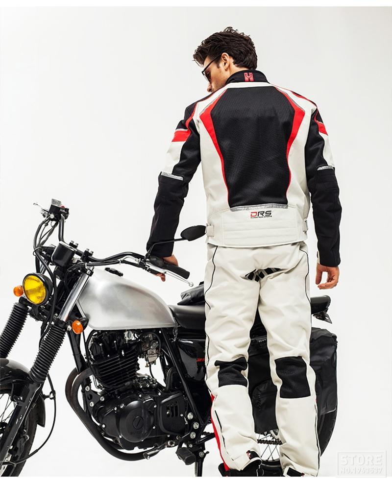 Veste de protection Moto avec pantalon