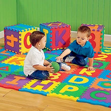 36pcs Colorful Puzzle Kid Educational Toy Alphabet A-Z Letters Numeral Foam Play Mat self-assemble Baby Crawling Pad(China)