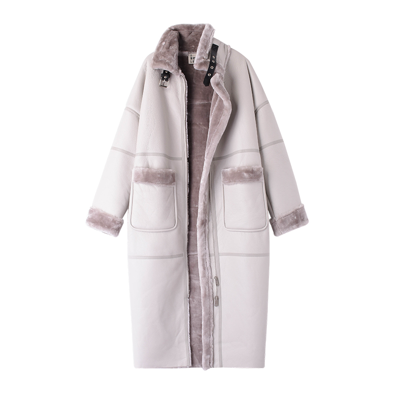 Femmes 2018 Automne Pour 03 Manteau Nouvelles De D'hiver Et Cerise Mode Vêtements 1112 Polyvalent Long Hd3b TXAqYwA
