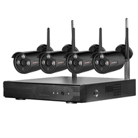 Wireless CCTV Camera System 720P 960P 4ch 2MP IP Camera Waterproof Outdoor P2P Home Security System