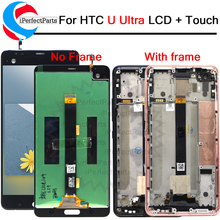 """2560x1440 For 5.7"""" HTC U ULtra LCD Display Touch Screen Digitizer Assembly Replacement Parts For HTC Ocean Note LCD + Tools"""