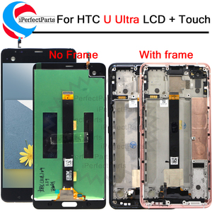 """Image 1 - 2560x1440 For 5.7"""" HTC U ULtra LCD Display Touch Screen Digitizer Assembly Replacement Parts For HTC Ocean Note LCD + Tools"""