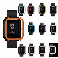 HANGRUI Screen Protective Cases For Xiaomi Huami Amazfit Bip PACE Youth Watch Case for Xiaomi Amazfit Watch protect shell cover