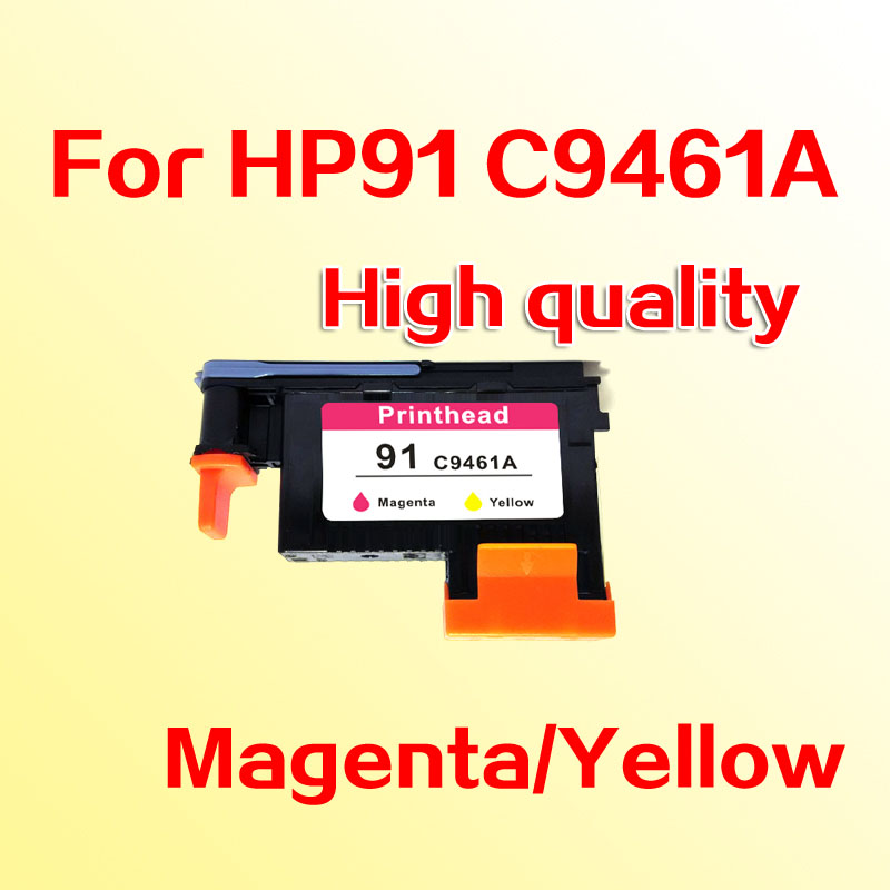 1x compatible printhead for hp91 C9461A for hp 91 Magenta/Yellow printer head Designjet  Z6100 Z6100P  1x 789 printhead yellow black for hp 789 l25500 printer head ch612a