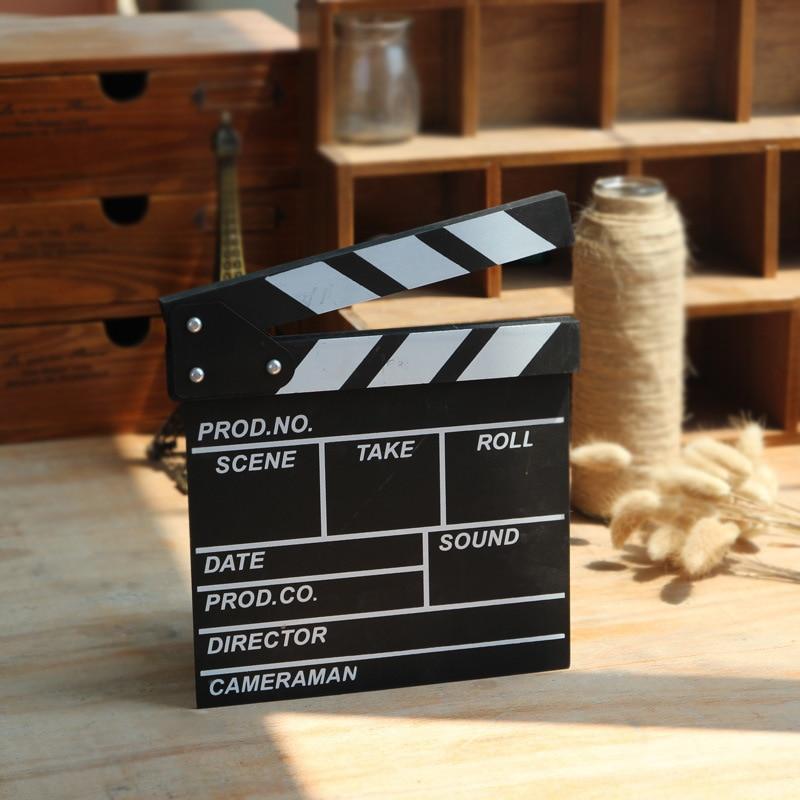 Video scéna šindel mini režisér video scéna šindel TV film film klapka deska film břidlice řezané prop scéna klapka