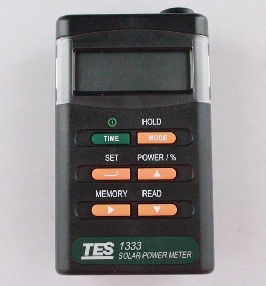 Electrical Equipment TES-1333 Solar Power Meter Digital Radiation Detector Solar Cell Energy Tester,Cheap shipping tes 1333 solar power meter digital radiation detector solar cell energy tester