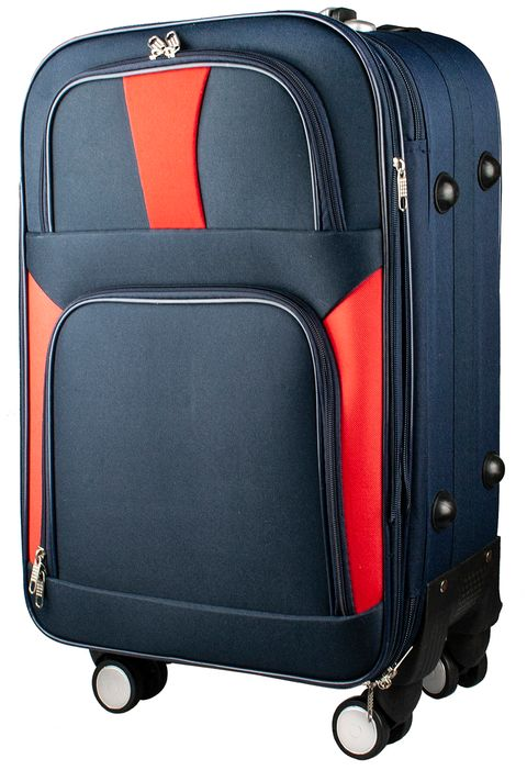 Фото - [Available from 10.11] Suitcase PROFI TRAVEL PH9085 fabric with retractable handle with combination lock S 4680477027487 sequin tote bag with double handle