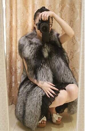 Mode D'hiver Silver Fox Fourrures Naturel De Femmes Manteau Nouvelle Fourrure Réel Les Pour Gilets Sain Femme Renard Arlene Véritable Gilet 791 tHcUT5xqwP