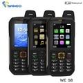 Xeno Impermeable S8 teléfono Banco de Potencia GSM Superior anciano IP68 Resistente H6 teléfono celular a prueba de golpes tres sim S8 S6 X1 X6 V3 XP6